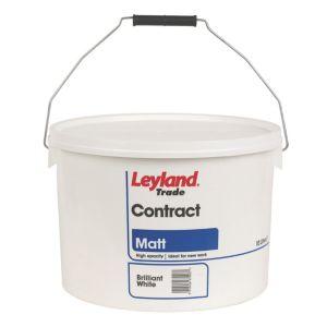 Leyland Trade Contract Matt Emulsion Paint 10L.