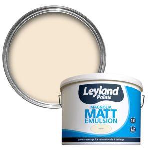Image of Leyland Magnolia Matt Emulsion paint 10L