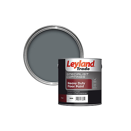 Leyland Trade Slate Satin Floor Amp Tile Paint Departments