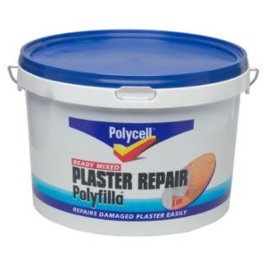 View Polycell Polyfilla Grey Plaster Repair Filler 2.5L details