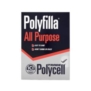 View Polycell Trade Polyfilla White All Purpose Powder Filler 2kg details