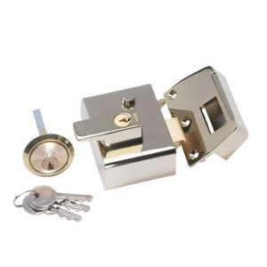 View Yale 40mm Brass Effect Night Latch P-2-BLX-PB-40 details