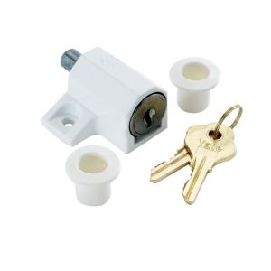 View Yale White Door Lock (L)49mm (W)26mm details