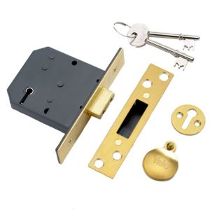 View Yale 5 Lever Mortice Deadlock 76mm details