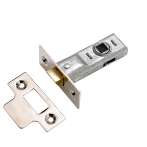 View Yale Bright Zinc Effect Tubular Latch 64mm details