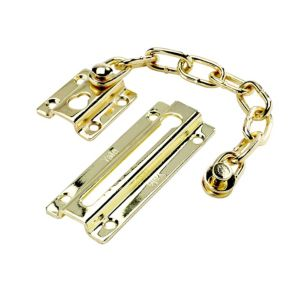 View Yale P1037PB Brass Effect Door Chain details