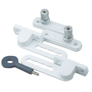 View Yale White Ventilation Window Lock, Pack of 2 details