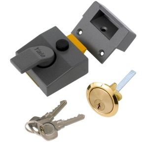 View Yale High Security Night Latch 40mm details