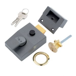 View Yale 60mm Brass Effect Night Latch P-89-DMG-PB-60 details