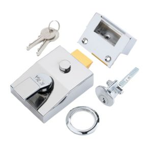View Yale 60mm Chrome Effect Night Latch P-89-CH-CH-60 details