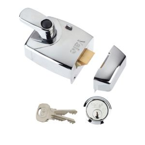 View Yale 60mm Chrome Effect Night Latch P-X9-CH-CH-60 details