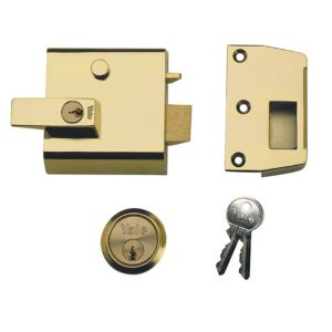 View Yale Chrome Effect High Security Night Latch 60mm details