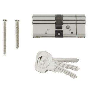 View Yale 100mm Nickel Plated Euro Cylinder Lock details