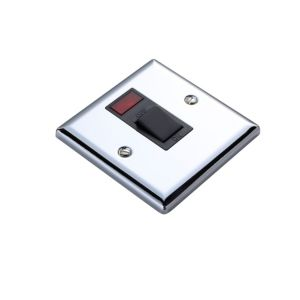 View Volex Silver 20A Switch (H)100mm (W)100mm (L)100mm details