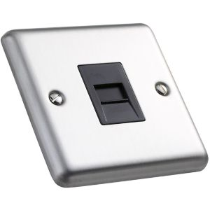 View Volex Raised Telephone Socket details