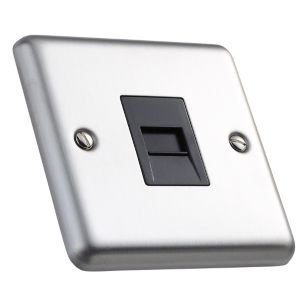 View Volex Gangraised Telephone Socket details