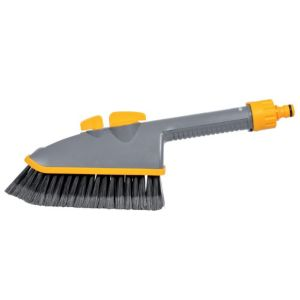 View Hozelock Grey & Yellow Plastic Car Wash Brush details