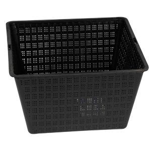 View Plastic Black Pond Planting Basket (H)140mm details