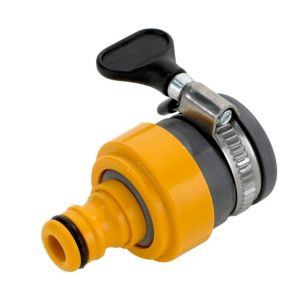 View Hozelock Yellow Plastic Tap Connector details