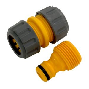 View Hozelock Yellow Plastic Hose Repair Connector details