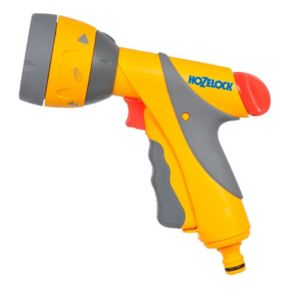 View Hozelock Grey, Red & Yellow 6 Pattern Multispray Gun details