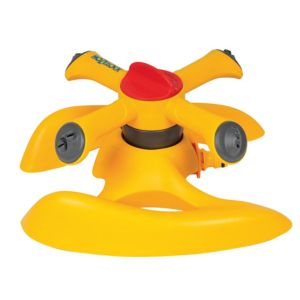 View Hozelock Yellow 2-In-1 Sprinkler details