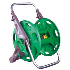 View Hozelock Green & Grey Plastic Hose Reel details