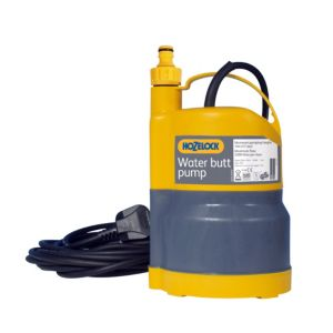View Hozelock Yellow Plastic & Rubber Water Butt Pump details