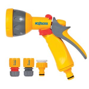 View Hozelock Grey, Red & Yellow Multi Spray Starter Set details