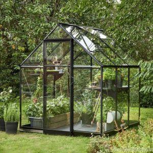 Image of Halls Qube 6x6 Greenhouse
