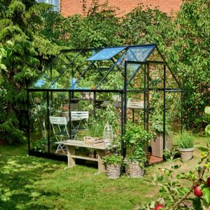 Image of Halls Qube 8x6 Greenhouse