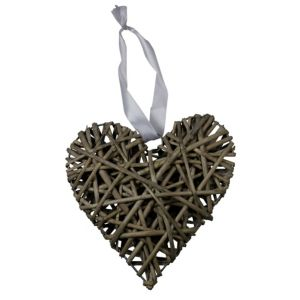 Wicker Wall Ornament  Small