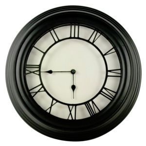 View Redbourn Black & White Round Clock details