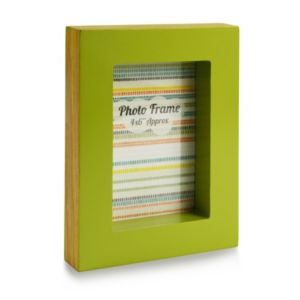 View Green Wood Picture Frame (H) 15cm x (W)20.2cm details