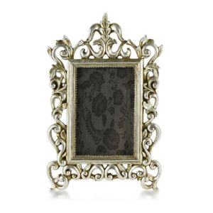 View Silver Effect Resin Picture Frame (H) 34cm x (W)24cm details