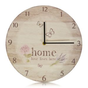 View Matt Round Wall Clock details