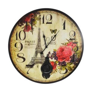 View Paris Round Wall Clock details