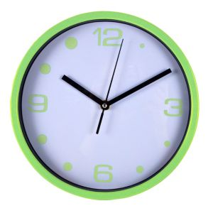 View Geen & White Round Wall Clock details