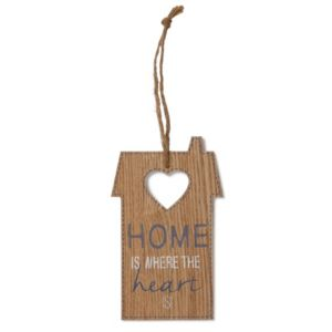 Photo of House home is where the heart is wood plaque