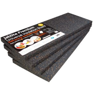 View Jablite Premium Insulation Board, (L)1200mm (W)450mm (T)50mm Pack of Pack of 4 details