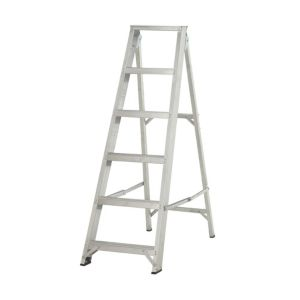 View Abru 6 Tread Aluminium Stepladder, 1.27m details