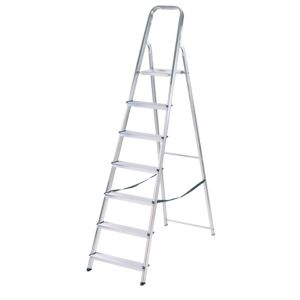 View Abru 7 Tread Aluminium Step Ladder, (H)2.12m details