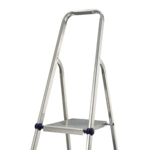 View Abru 8 Tread Aluminium Step Ladder, (H)1.48m details