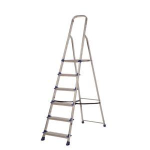 View Abru 6 Tread Aluminium Step Ladder, 1.25m details