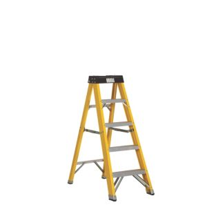 View Abru 5 Tread Fibreglass Step Ladder, (H)1.3m details