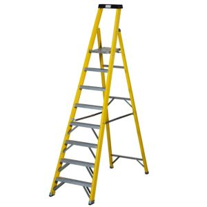 View Abru 8 Tread Fibreglass Step Ladder, 2.67m details