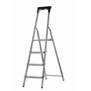View Abru 4 Tread Aluminium Step Ladder, 1.56m details