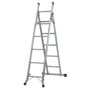 View Abru Aluminium 5-Way Combination Ladder, (H)2.74M details