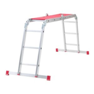 View Abru Aluminium 12-Way Combination Ladder, (H)3.38M details