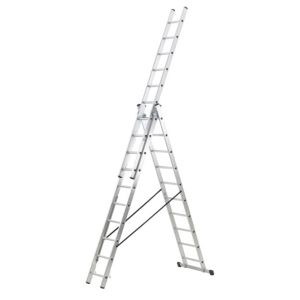 View Abru Aluminium 3-Way Combination Ladder, (H)2.74M details